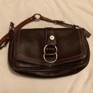 Burgandy COACH purse
